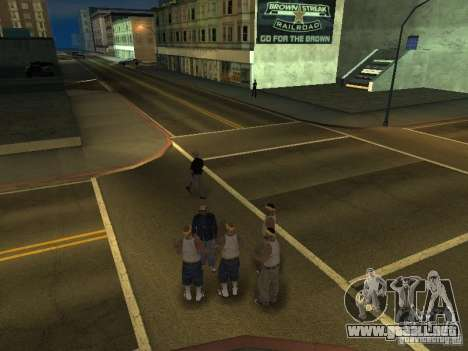 Cámara móvil gratis para GTA San Andreas segunda pantalla