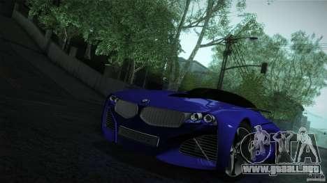 BMW Vision Connected Drive Concept para la vista superior GTA San Andreas