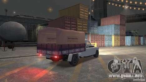 GAZ M20 Pickup para GTA 4 visión correcta