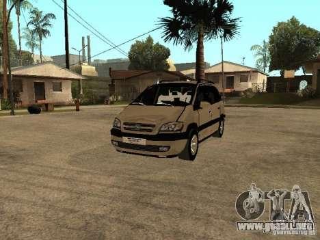 Opel Zafira para GTA San Andreas