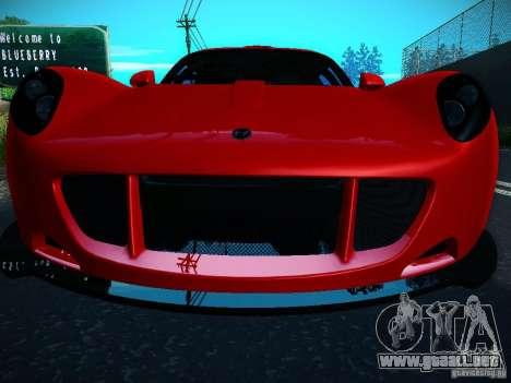 Hennessey Venom GT Spyder para la visión correcta GTA San Andreas