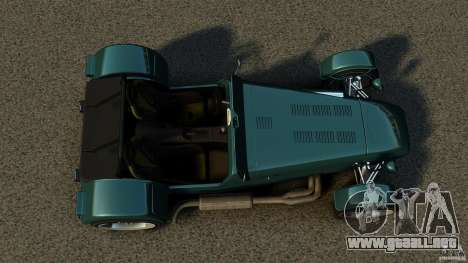 Caterham Superlight R500 para GTA 4 visión correcta