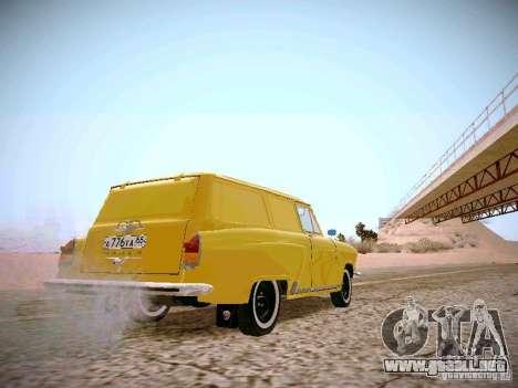 Van GAS 22B para la visión correcta GTA San Andreas