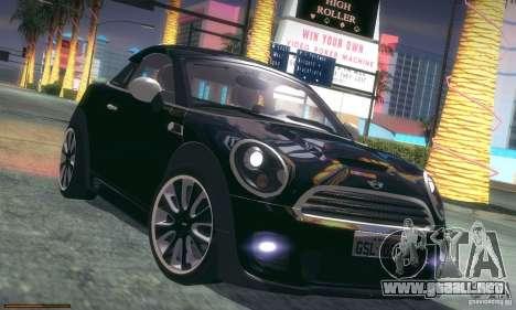Mini Concept Coupe 2010 para vista inferior GTA San Andreas