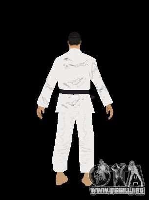 Reteksturirovannye karate para GTA San Andreas sexta pantalla
