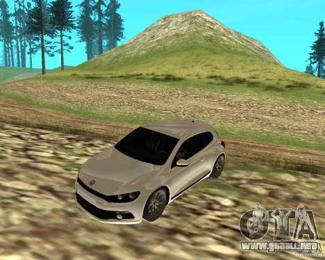VW Scirocco III Custom Edition para GTA San Andreas left
