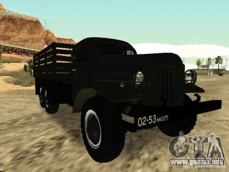 ZIL 157 para la visión correcta GTA San Andreas