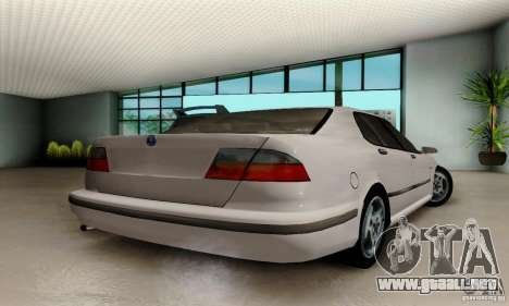 Saab 9-5 Sedan Tuneable para GTA San Andreas left