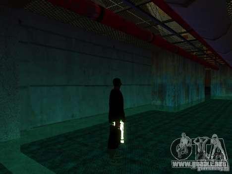 Nuevo Ballas gruesa para GTA San Andreas segunda pantalla
