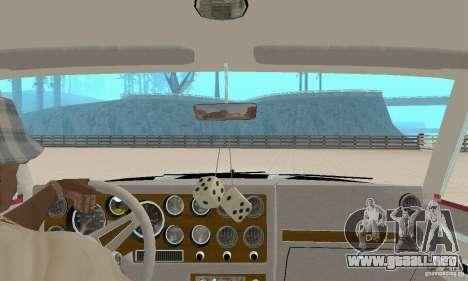 Pontiac Grand Prix 1985 para visión interna GTA San Andreas