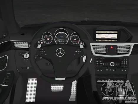 Mercedes-Benz E63 AMG para el motor de GTA Vice City