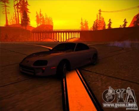 Toyota Supra SHE para GTA San Andreas interior