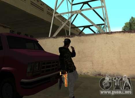 A$AP Rocky para GTA San Andreas tercera pantalla