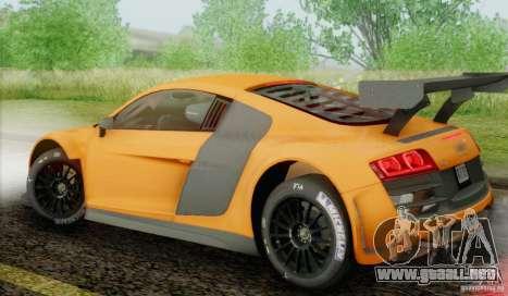 Audi R8 LMS GT3 para GTA San Andreas left