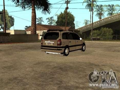 Opel Zafira para la visión correcta GTA San Andreas
