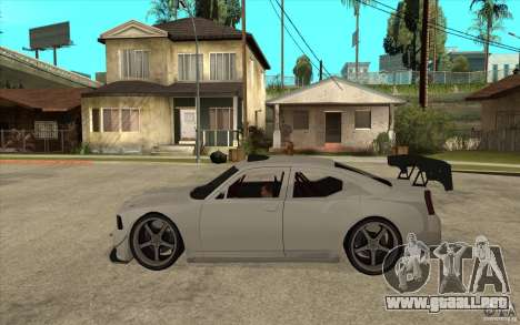 Dodge Charger 2009 para GTA San Andreas left