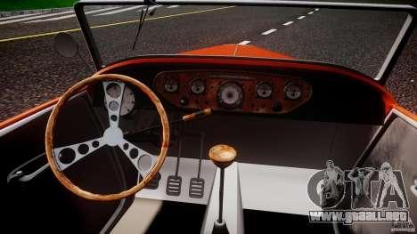 Hot Rod para GTA 4 visión correcta