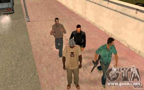 Brigada versión 2.0 para GTA San Andreas