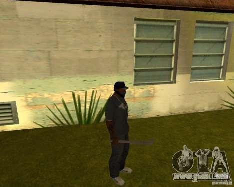 Pipa de agua para GTA San Andreas