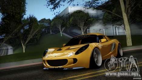 Lotus Exige Track Car para visión interna GTA San Andreas