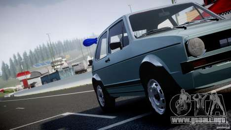 Volkswagen Golf Mk1 para GTA motor 4