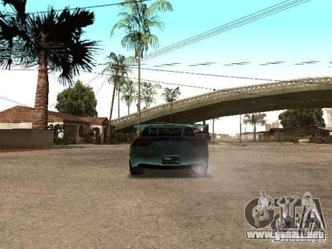 Mazda RX-7 Pro Street para GTA San Andreas vista posterior izquierda