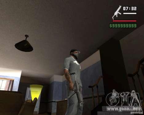 Mp5HD para GTA San Andreas tercera pantalla