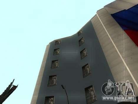 La embajada rusa en San Andreas para GTA San Andreas sucesivamente de pantalla
