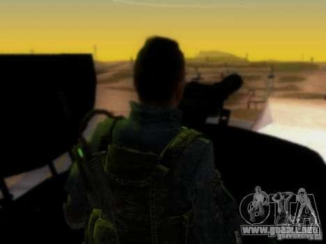 Suv Call Of Duty Modern Warfare 3 para GTA San Andreas interior