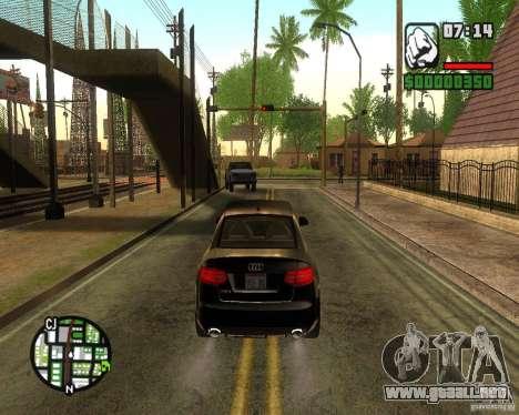 ENBSeries 2012 para GTA San Andreas segunda pantalla