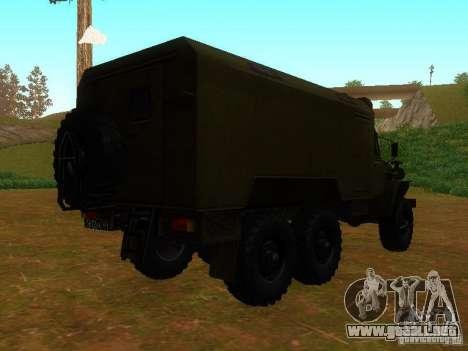 Ural 4320 Kung para la visión correcta GTA San Andreas