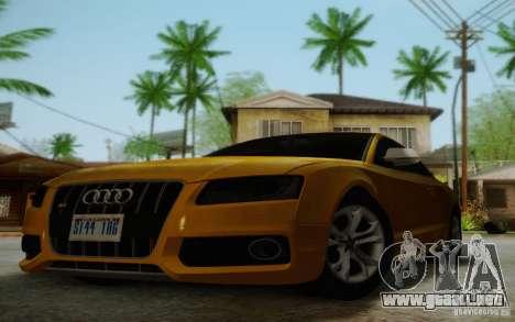 Audi S5 para la vista superior GTA San Andreas