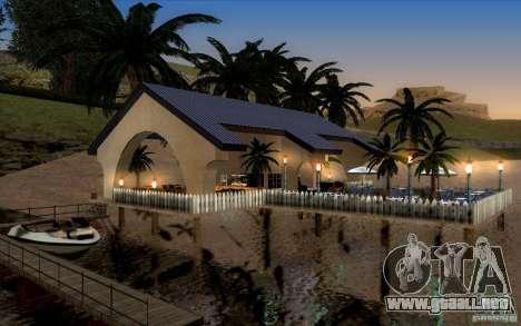 Club de playa para GTA San Andreas sucesivamente de pantalla