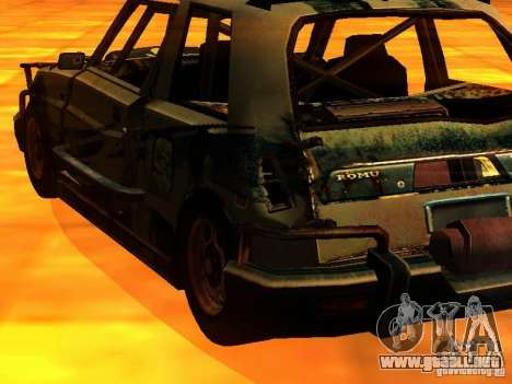 CHILI from FlatOut 2 para GTA San Andreas left