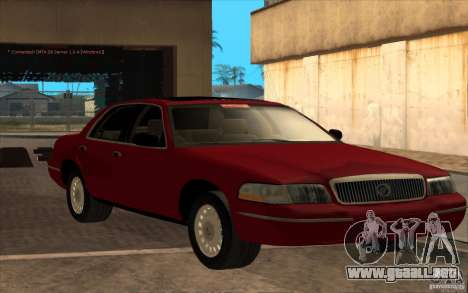 Mercury Grand Marquis 2006 para GTA San Andreas