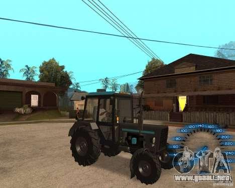 Tractor MTZ-80 para GTA San Andreas left