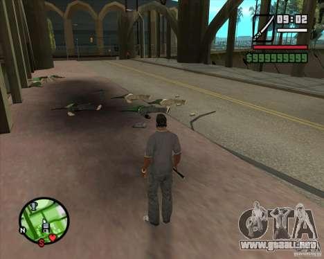 Chidory Mod para GTA San Andreas tercera pantalla