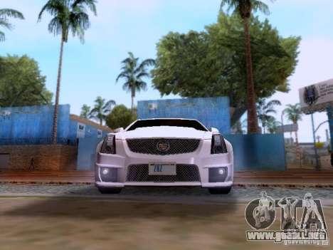 Cadillac CTS-V 2009 para la visión correcta GTA San Andreas
