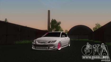 Mazda MazdaSpeed 3 para GTA San Andreas