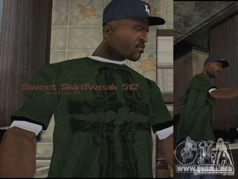 Caracteres Reteksturizaciâ para GTA San Andreas tercera pantalla