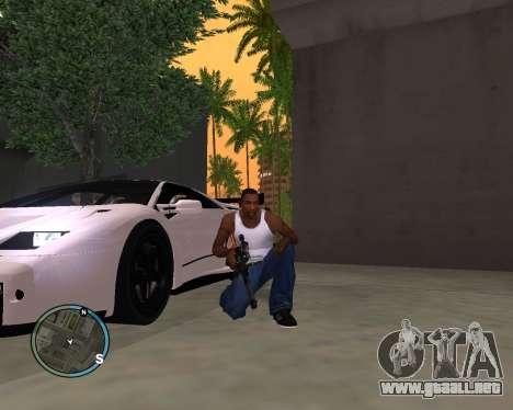 VSS Vintorez para GTA San Andreas tercera pantalla