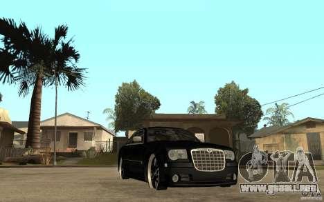 Chrysler 300C DUB para GTA San Andreas vista hacia atrás