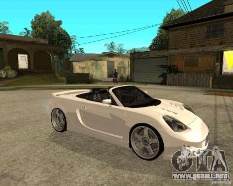 Toyota MRS2 Veilside para la visión correcta GTA San Andreas