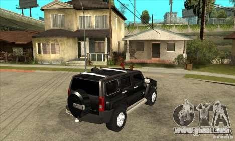 Hummer H3 para la visión correcta GTA San Andreas