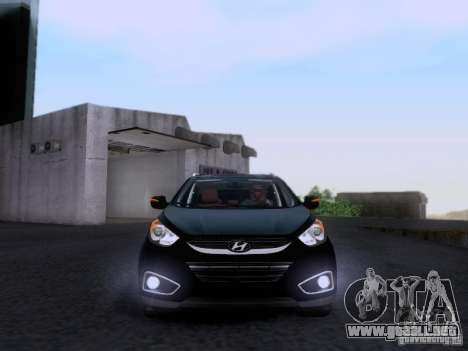 Hyundai ix35 para visión interna GTA San Andreas