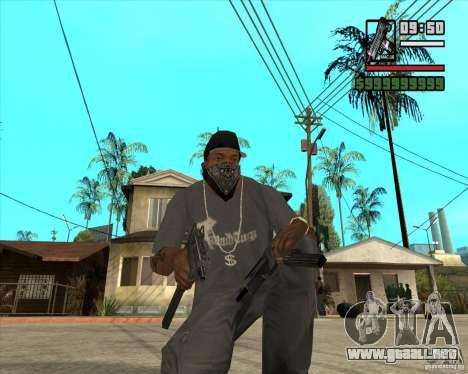 Millenias Weapon Pack para GTA San Andreas sucesivamente de pantalla