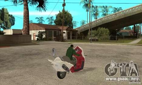 Honda Forza para la visión correcta GTA San Andreas