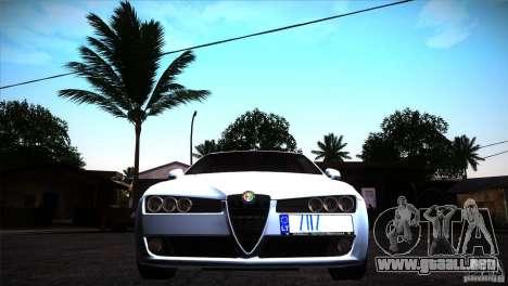 Alfa Romeo 159 Ti para visión interna GTA San Andreas