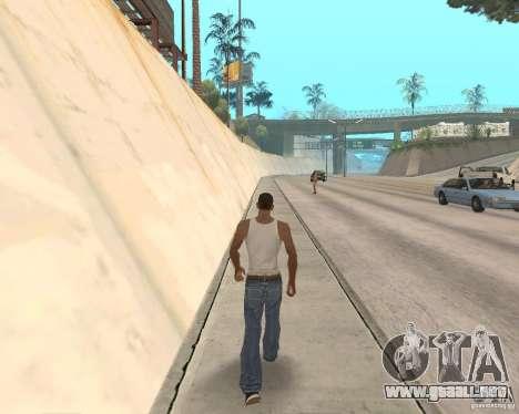 Sprint System v1.0 para GTA San Andreas tercera pantalla