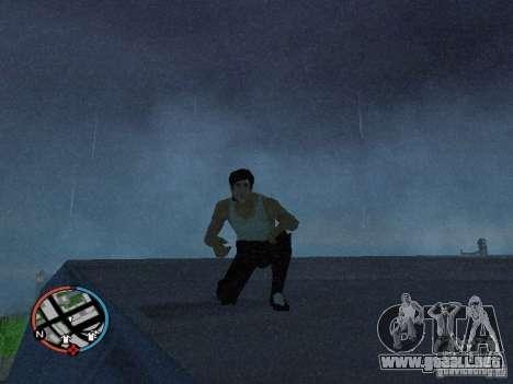 Bruce Lee piel para GTA San Andreas segunda pantalla